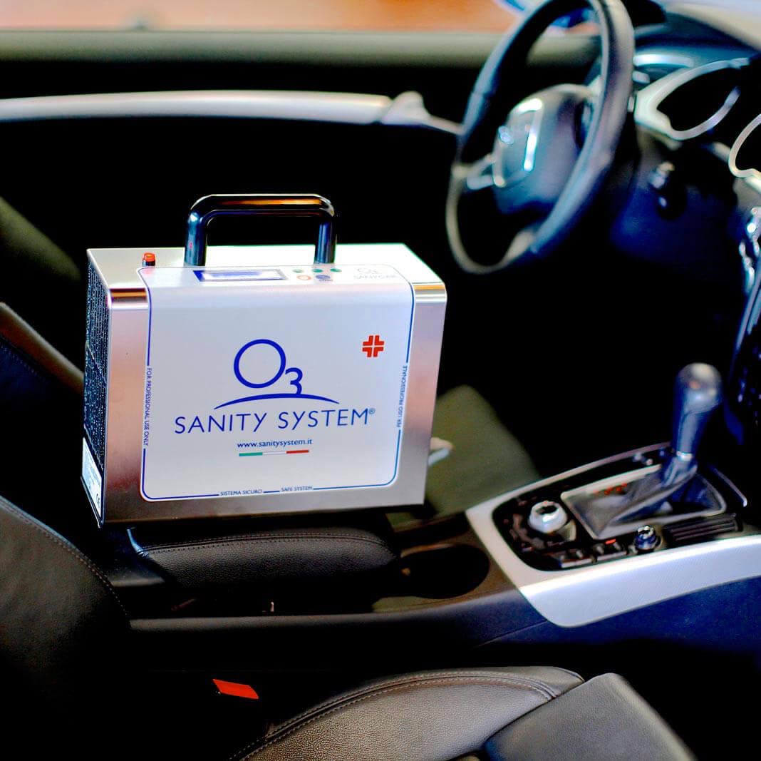 sanificazione automobile rigomma