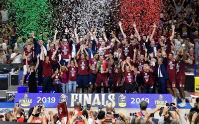 Reyer Venezia è campione d'Italia!