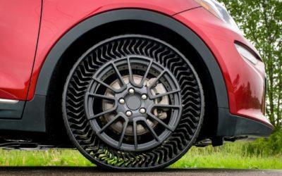 Dal 2024 i pneumatici senz'aria firmati Michelin